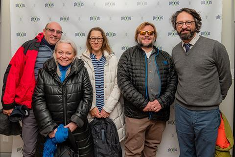 Willie Garson, Jacki Weaver, Maya Forbes, Jack Black and Wallace Wolodarsky